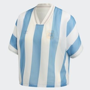 Adidas Argentina Layer Crop Tee